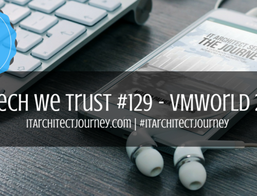 Get in the #VMworld Spirit With In Tech We Trust Podcast #129!