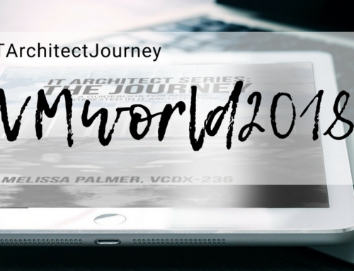 Your IT Architect Journey at VMworld 2018